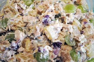 Tropical Chicken Salad Croissants