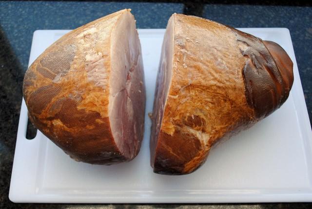 Baked Ham with Brown Sugar Mustard Glaze