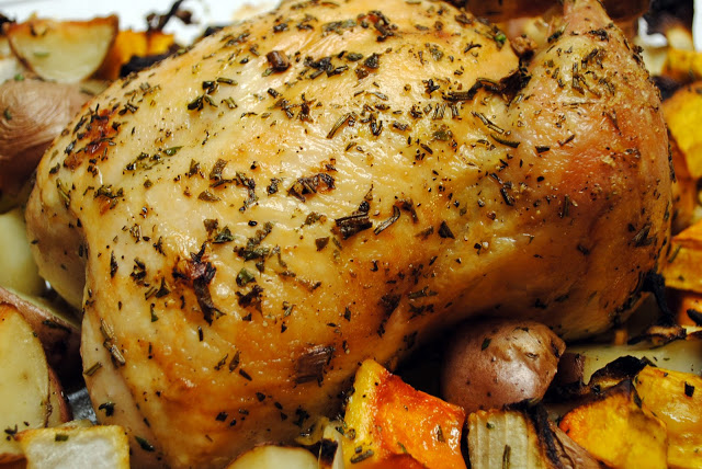 Herbed Roasted Chicken and Vegetables