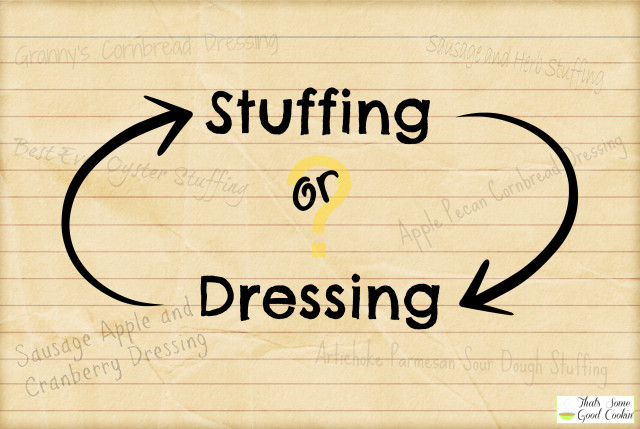 Difference Between Stuffing and Dressing