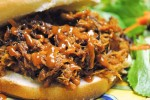 Pulled Pork Barbecue Sandwich