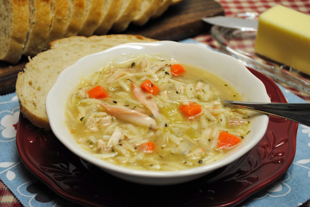 Best Chicken Soup with Orzo