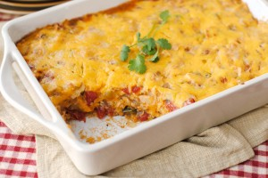 King's Ranch Chicken Casserole