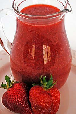 Strawberry Sauce or Any Basic Fruit Sauce