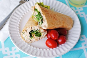 Spicey Southwestern Chicken Salad Wraps