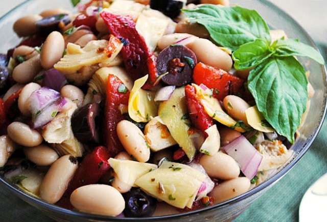Tuscan Bean Salad 172