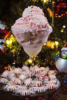 Peppermint Candy Cane Ice Cream