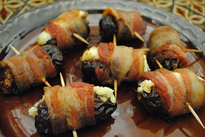Stuffed Bacon Wrapped Dates