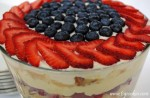 Berry Trifle with Rubarb Lemon Curd