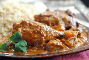Curried Chicken and Butternut Squash
