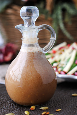 Apple Salad with Apple Cinnamon Vinaigrette