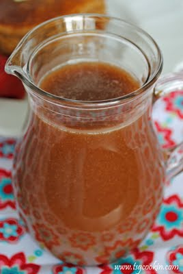 Cinnamon Cream Syrup