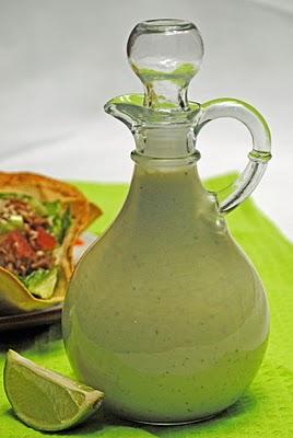Cafe Rio-Style Creamy Tomatillo Salad Dressing