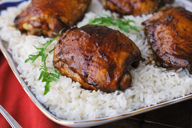 Five Spice Honey Chicken