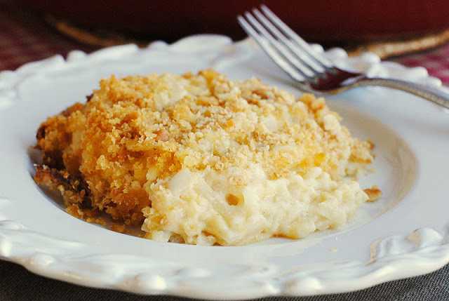 Funeral Potatoes {potato casserole}