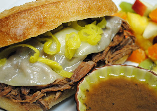 Italian Beef Sandwiches {Slow Cooker}