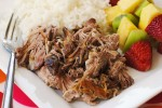 Kalua Pork {Slow Cooker}