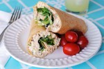 Spicy Chicken Salad Wrap