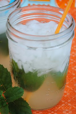 Limeade with Mint