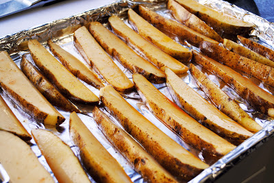 Malt Vinegar Oven Fries