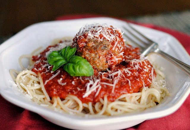 Spaghettit and Meatballs