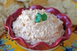 'Mexi Cheese Dip' from the web at 'http://tsgcookin.com/wp-content/uploads/2012/12/Mexi+Dip+095-150x100.jpg'