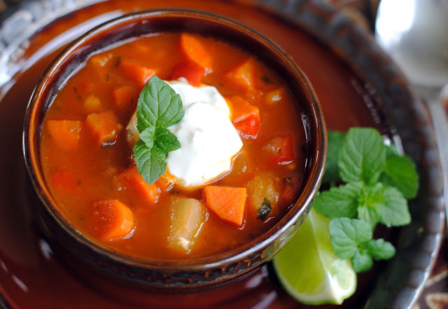 Moroccan Spiced Carrot Soup
