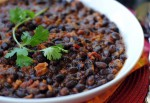 Black Beans for a Side Dish