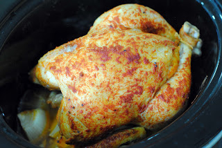 Slow Cooker Roasted Chicken