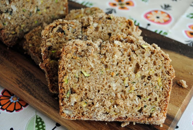 Zucchini Bread with Coconut and Pineapple