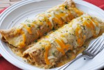 Green Chile Chicken Enchiladas 466