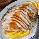 Lemon-Thyme Turkey with Lemon Gravy