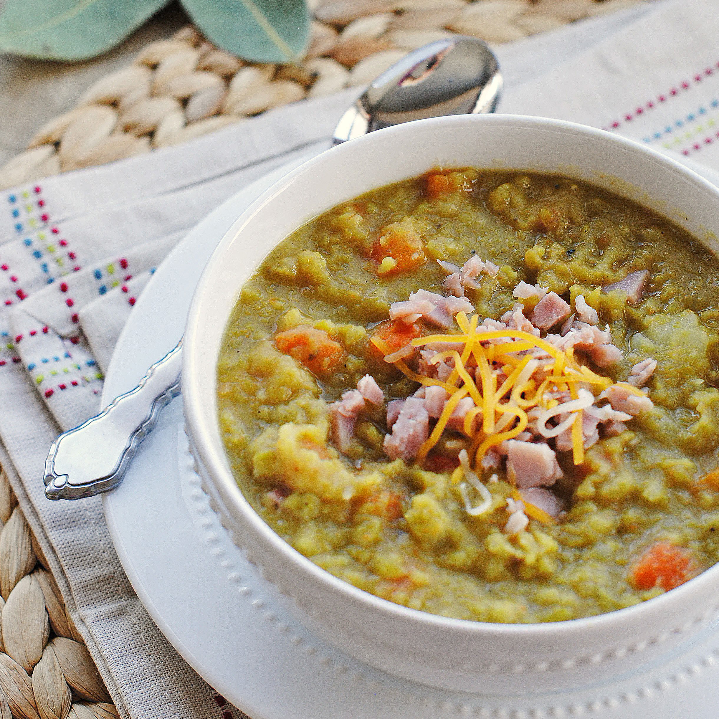 Split-Pea Soup With Ham Recipe — Dishmaps