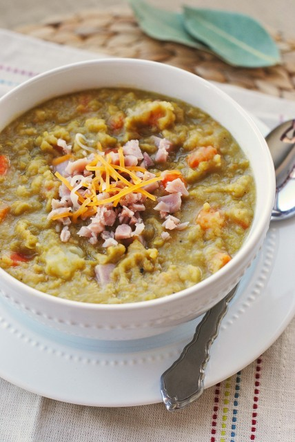 Split Pea Soup with Ham 241