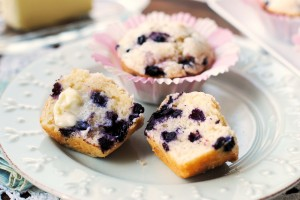 Blueberry Lemonade Muffins