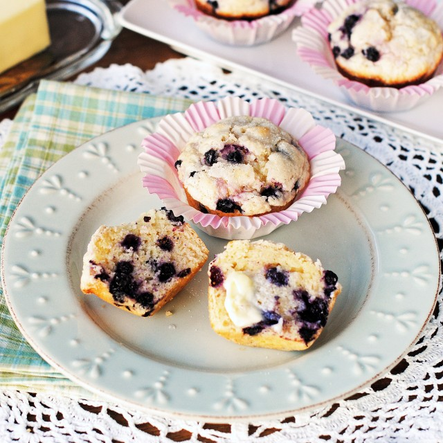Blueberry Muffins 1350 square