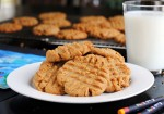 Peanut Butter Cookies with Coconut Oil