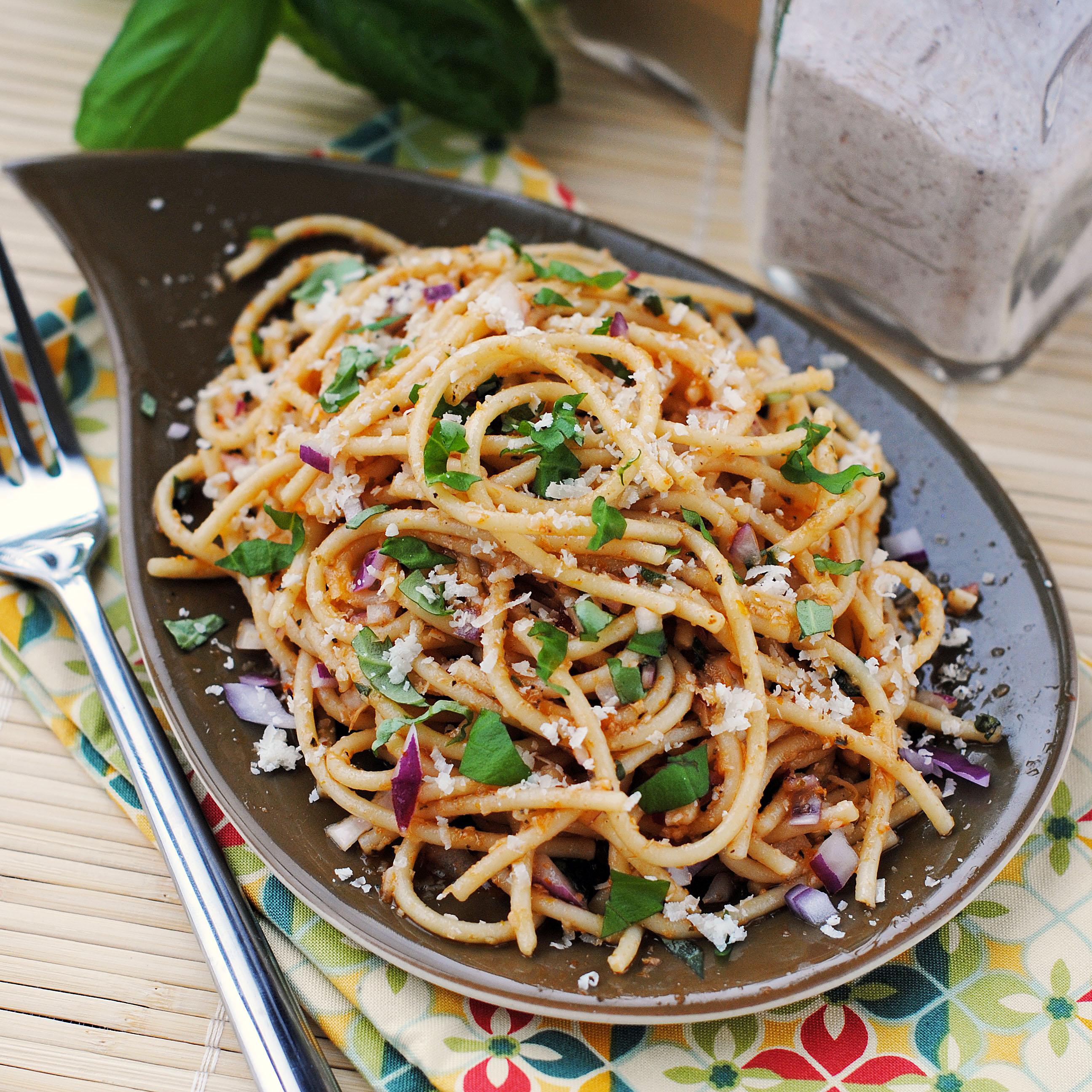 Pasta Salad with Sun Dried Tomato Dressing