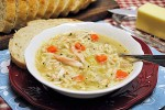 Chicken Soup with Orzo