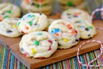 Amish Sugar Cookies with M&M's