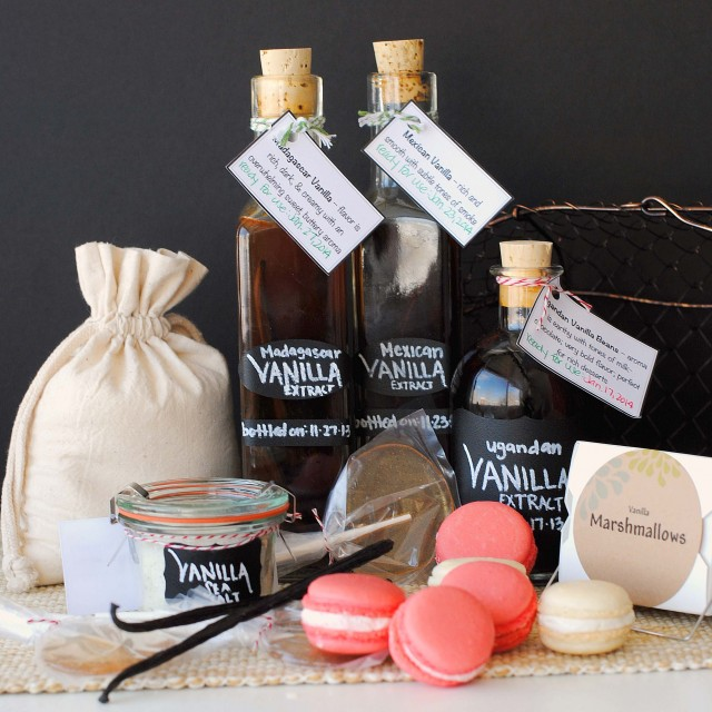 Vanilla Everything Gift Basket