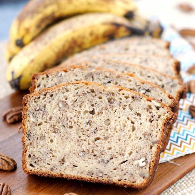 Sour Cream Cinnamon Banana Bread