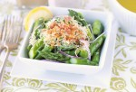 Asparagus Sald with Lemon Viniagrette