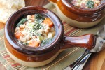 Navy Bean and Collard Soup
