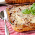 'Baked Spaghetti' from the web at 'http://tsgcookin.com/wp-content/uploads/2014/03/Baked-Spaghetti-3176-square-150x150.jpg'