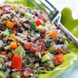 Lentil, Quinoa & Orzo Salad