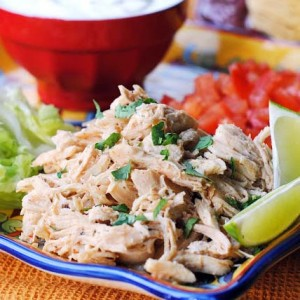 Taqueria-style Slow Cooker Chicken