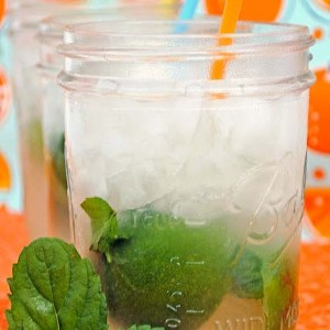 Fresh Limeade with Mint
