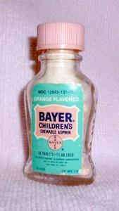 Bayer baby aspirin