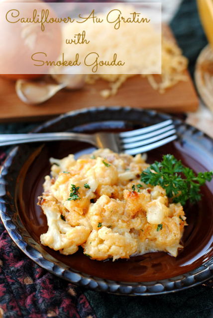 Cauliflower Au Gratin with Smoked Gouda